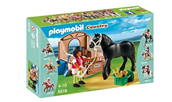 cheval de trait playmobil