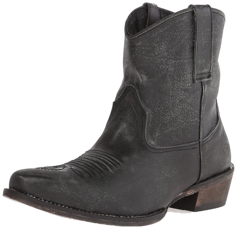 Roper Women's Dusty Riding Boot B00LEVRI1I 5 B(M) US|Black