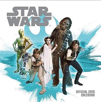 Star Wars Classic Official 2019 Calendar - Square Wall Calen ...