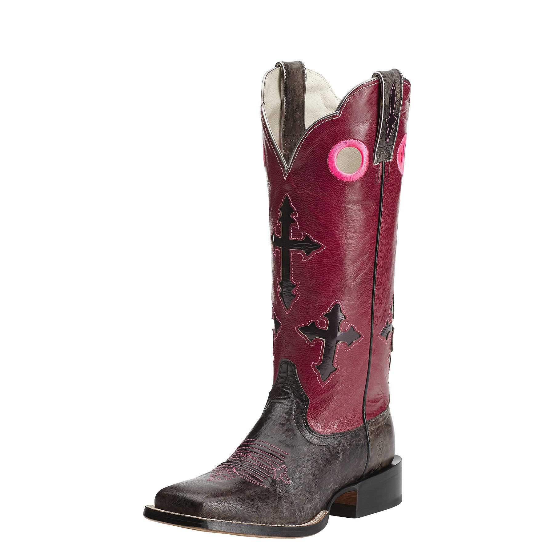 ARIAT Womens Ranchero Performance 6.5 B Textured Charcoal by ARIAT