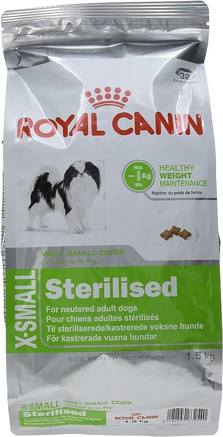 Royal Canin X-Small Sterilised - Comida para perros adultos ...