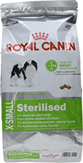 Royal Canin X-Small Sterilised - Comida para perros adultos esterilizados, 1,5