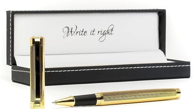Metall Kugelschreiber mit ihre Wunschgravur Drehkugelschreiber Rose Gold Edel