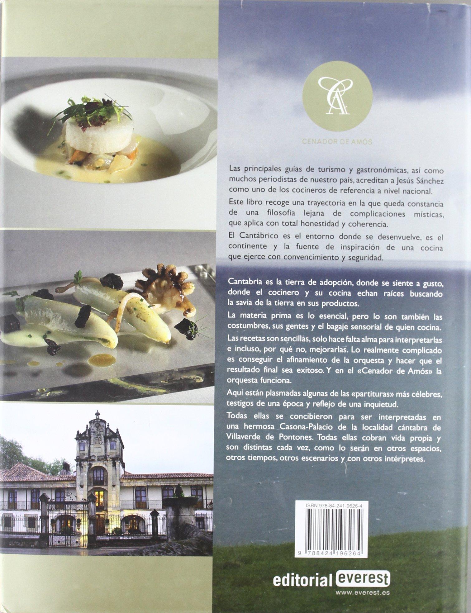 La cocina del Cantábrico. Cenador de Amós Cocina de autor: Amazon ...