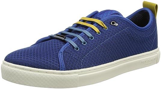 Ted Baker Lannse, Zapatillas para Hombre, Azul (Blue #0000ff), 40 EU