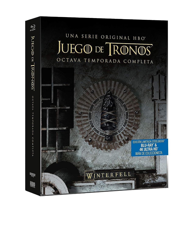 Juego de Tronos - Temporada 8 Edición Steelbook Blu-ray: Amazon.es ...