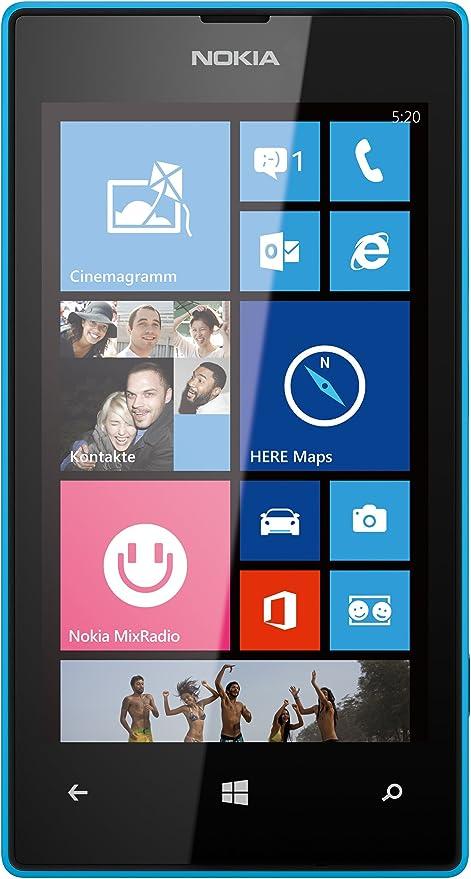 Nokia Lumia 520 - Smartphone libre (pantalla táctil de 4