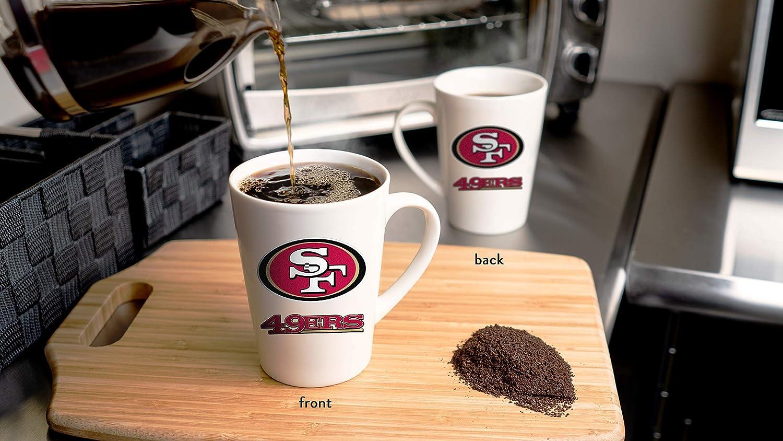 18 oz Duck House NFL San Francisco 49Ers Unisex Bone China Mugbone China Mug White