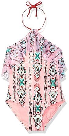 df5568fda8 Amazon.com: Gossip Girl Big Girls' Desert Moon One Piece Swimsuit: Clothing