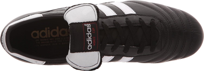 adidas Originals World Cup SG, Chaussures de Football Homme Noir (Black/Running White Footwear)