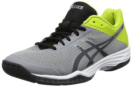 Asics Gel-Tactic, Zapatillas de Voleibol para Hombre, Plateado (Aluminum/Dark Grey/Energy Green), 43.5 EU: Amazon.es: Zapatos y complementos