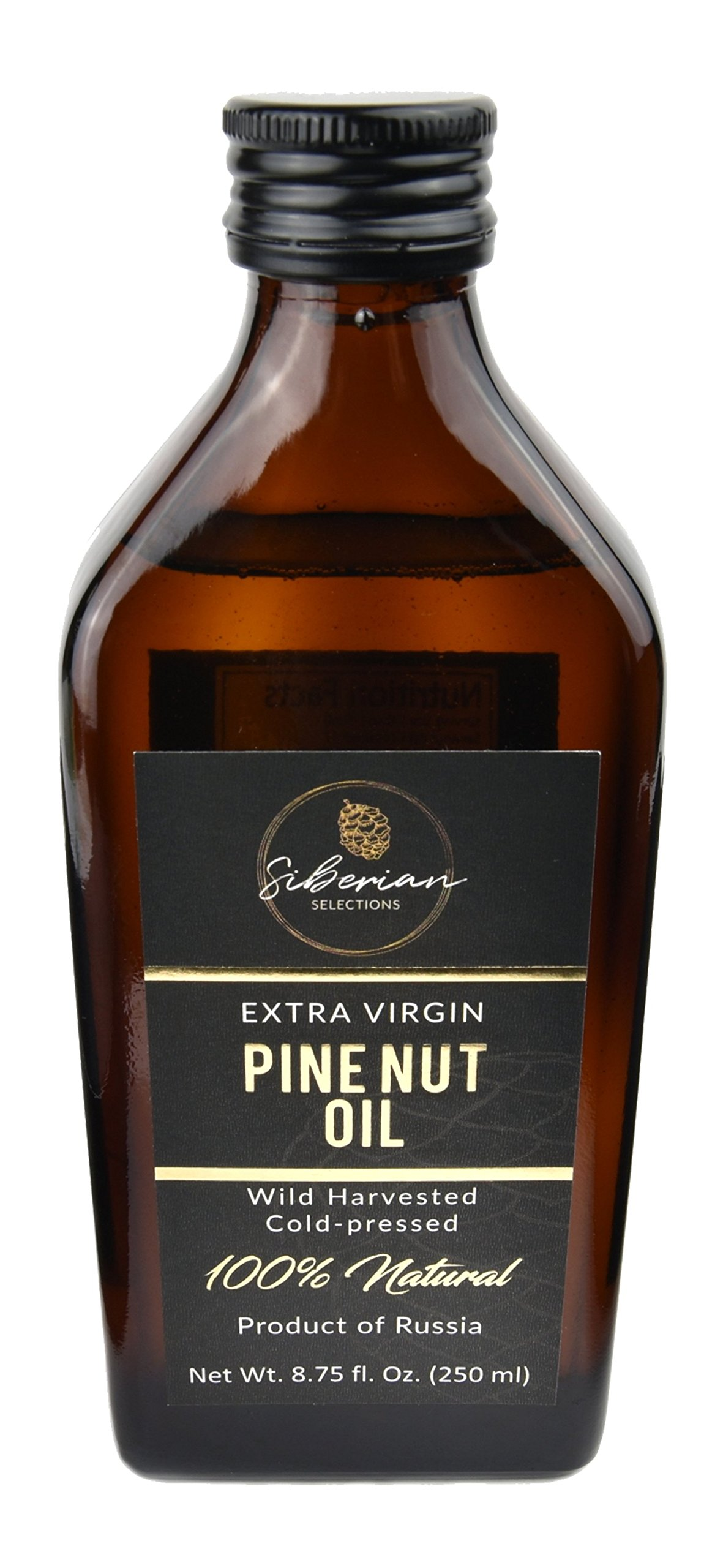 Siberian Selections Pine Nut Oil, 250ml by Siberian Selections