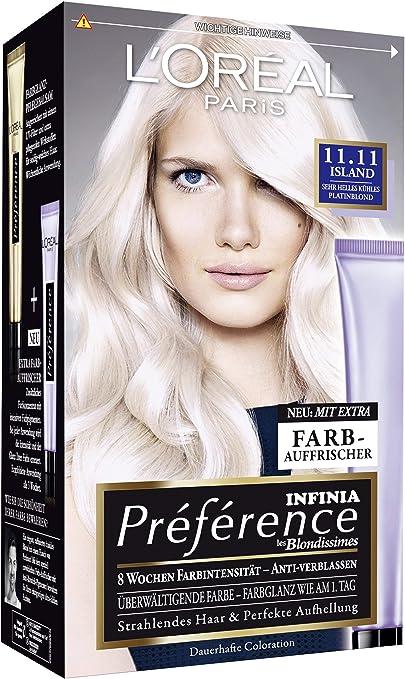 L Oréal Paris a84404 Preference coloration Island, 11.11 muy ...