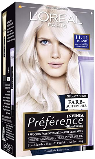 Platinblond haarfarbe
