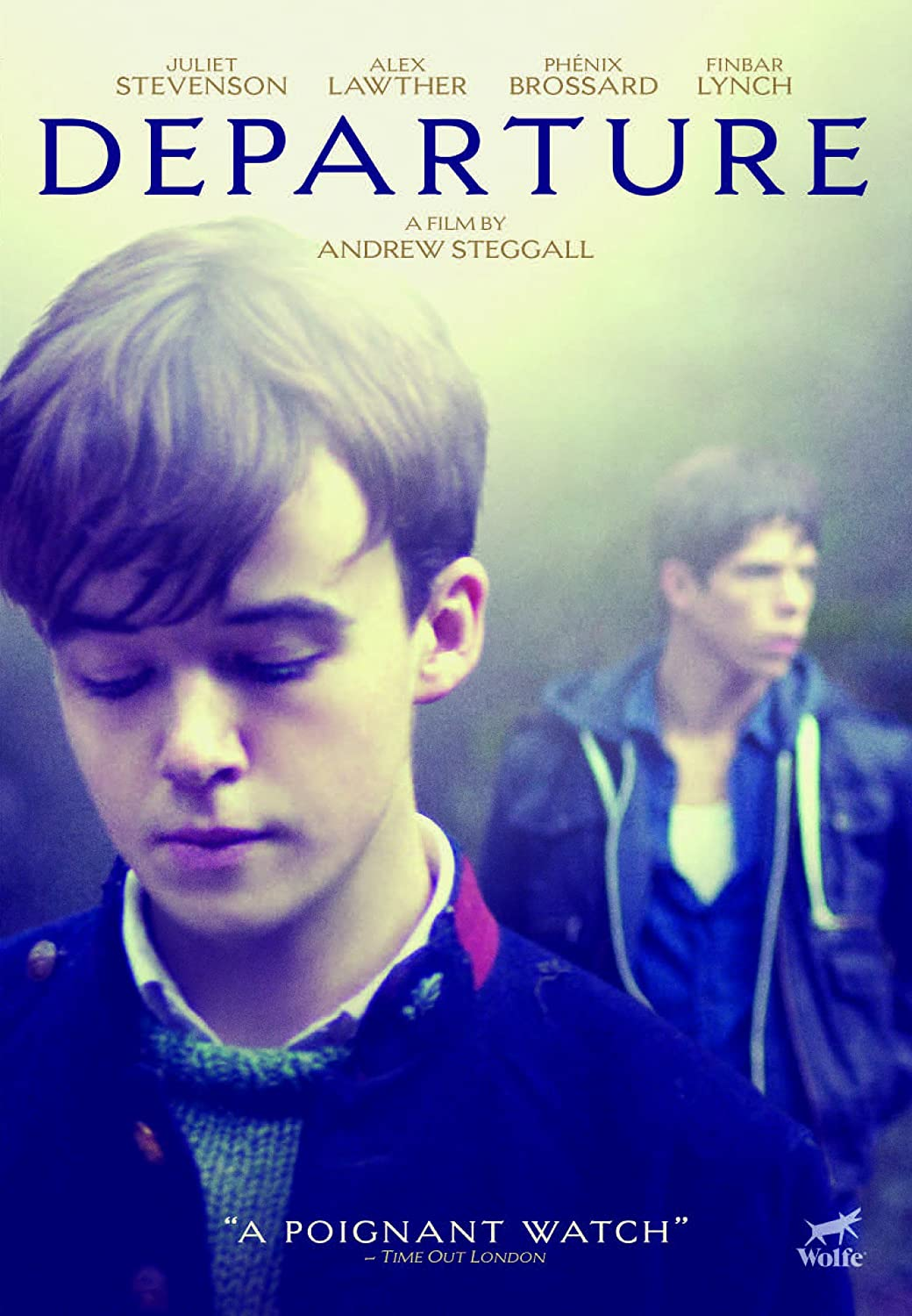 Departure Alex Lawther Amazon Com Br Dvd E Blu Ray