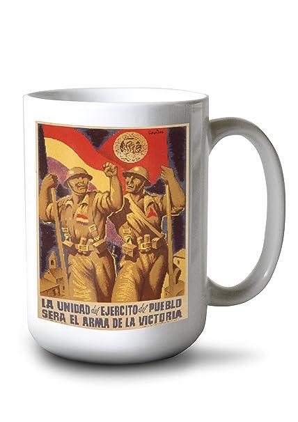 Amazon.com: La Unidad des Ejercito del Pueblo Vintage Poster ...
