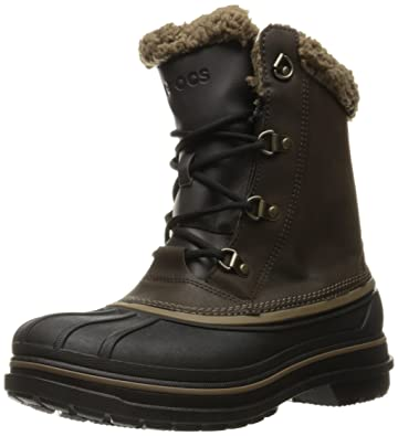 833fdd0eae9f crocs Men s AllCast II Snow Boot