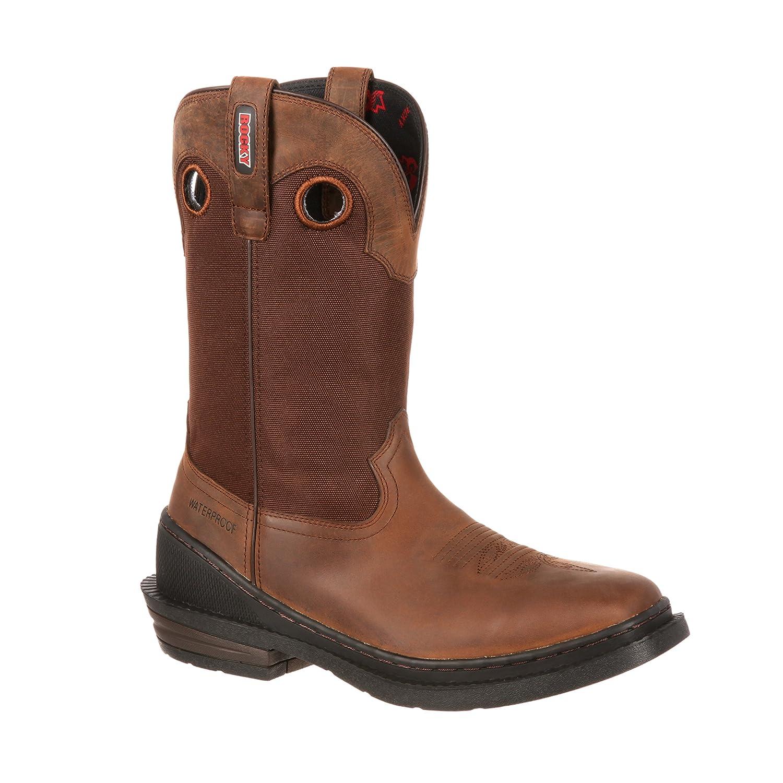 """Rocky Men's 12"""" OutRidge One-Ton Waterproof Western Boot-RKW0150"""