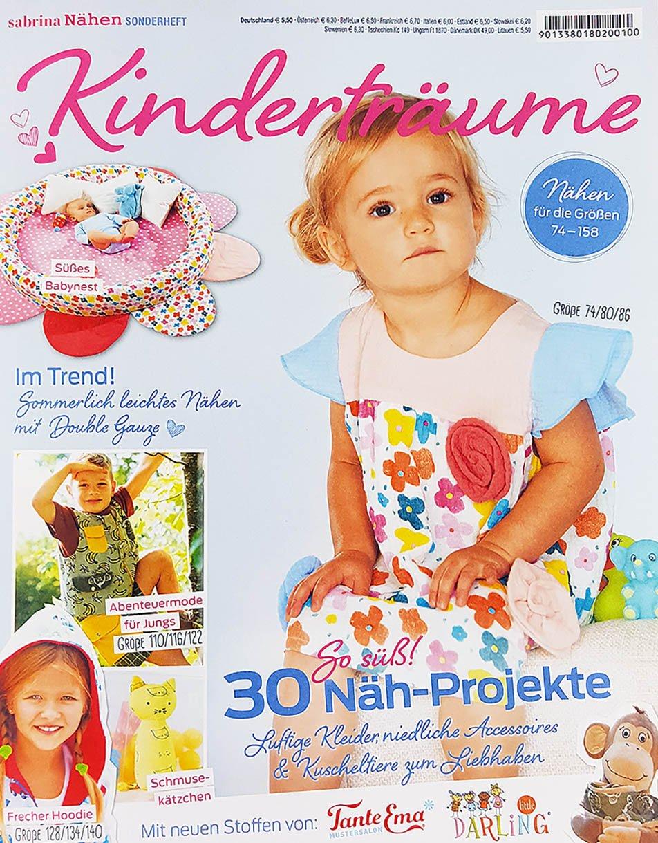 Stoffe Werning Kinderträume Nähzeitschrift - Preis für 1 Zeitschrift ...