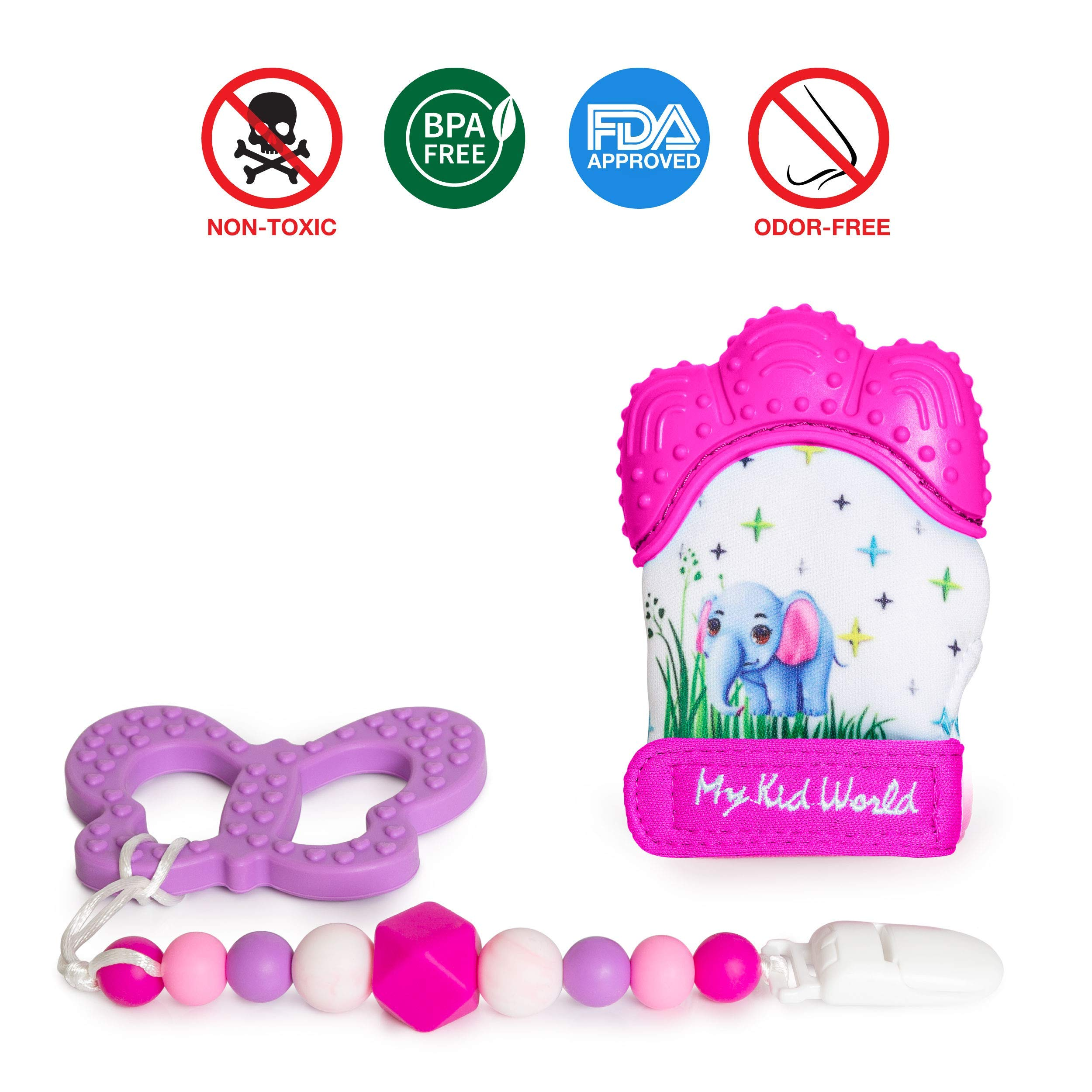 Various Colours Latest Collection Of New First Steps Teething Key Ring Baby Teether 6 Month Teethers