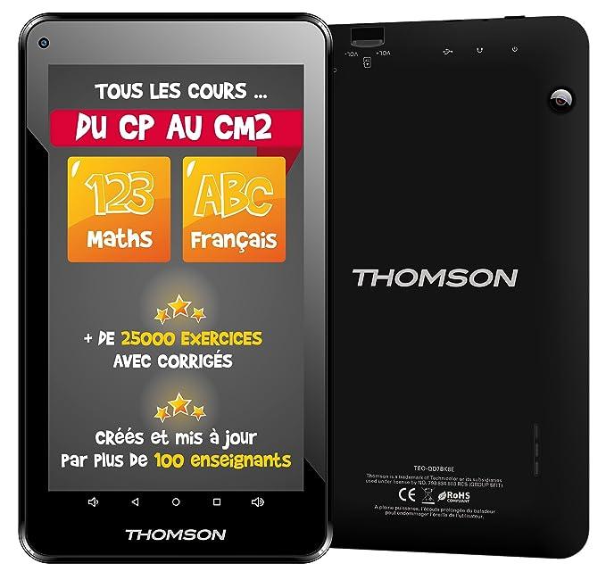 Thomson Tablette tactile éducative Primaire TEO-QD7BK8E 7