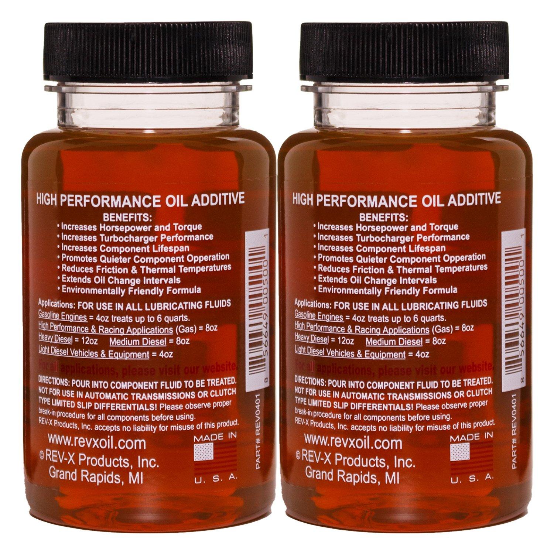 Rev X Stiction Fix Oil Treatment Two 4 Fl Oz Bottles F250 Fuel Filter Replacement Automotive
