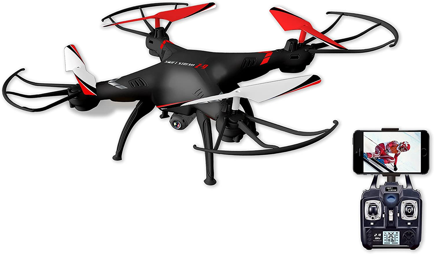 Amazon.com: Swift Stream Z-9 Camera Drone, Black: Toys & Games
