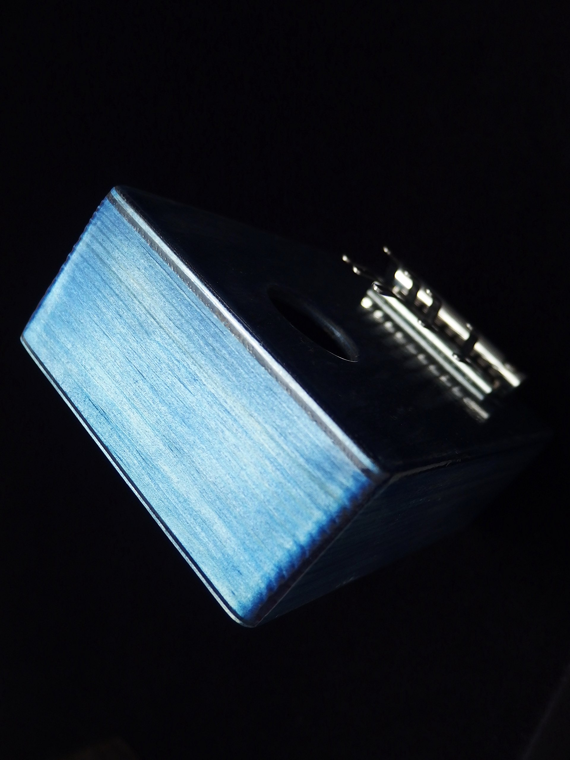 Kalimba / Shamanic rainbow / (Blue) Sansula Thumb Piano Great sound by Shamanicshop (Image #3)