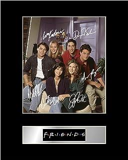 Iconic pics Friends Photo dédicacée encadrée Friends autographe Cadeau Photo d'impression