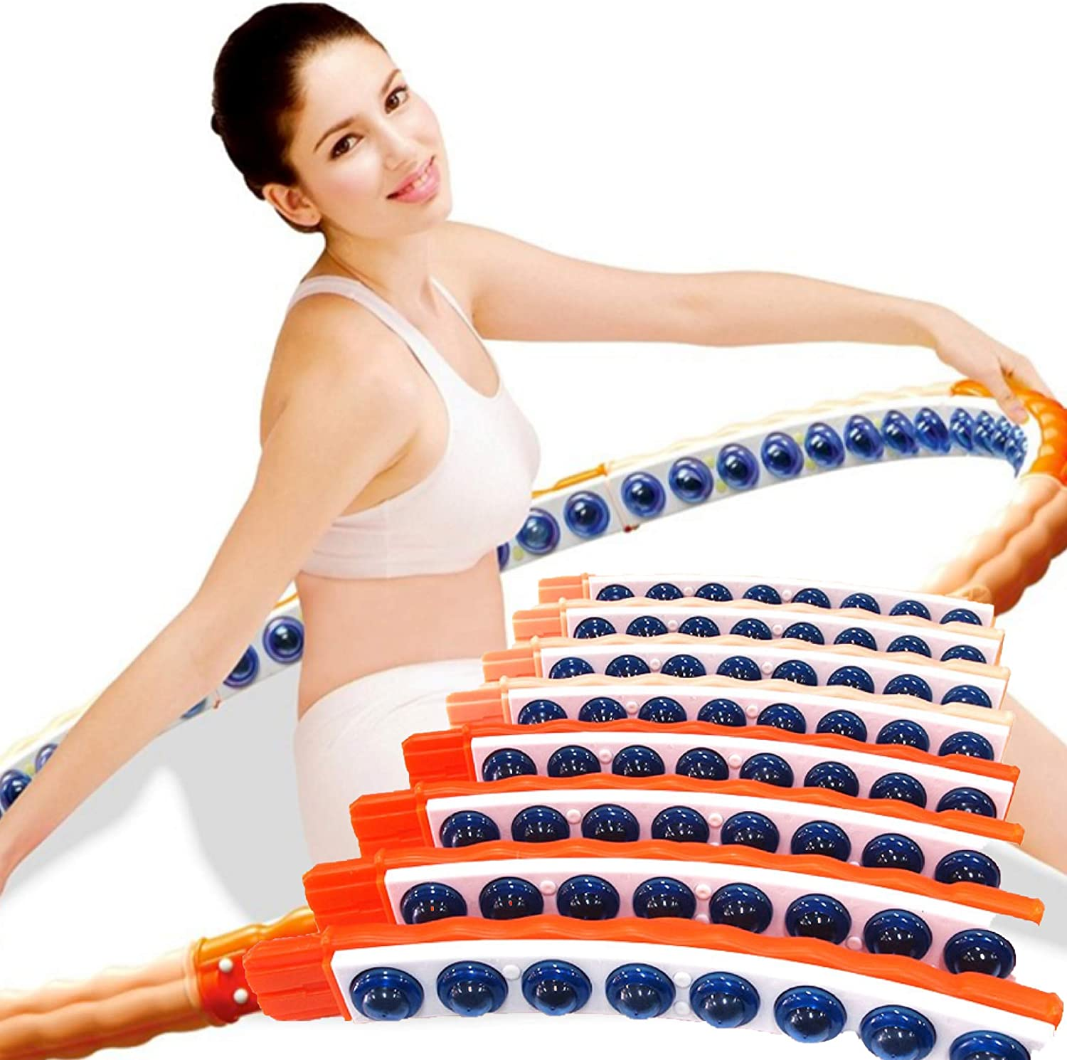 Health Hoop® Passion Weighted Magnetic Health  Hula Hoop  2.2kg  fat burning
