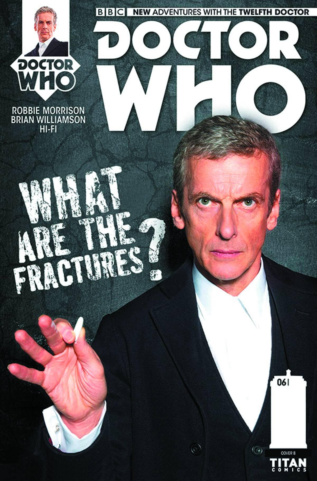 Download Doctor Who 12th #6 Subscription Photo Cover ebook