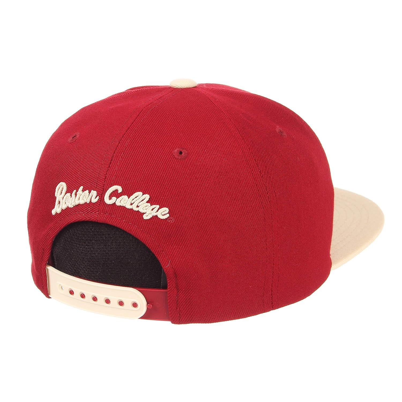 Zephyr Mens Z11 Invert Snapback Hat Adjustable Cardinal