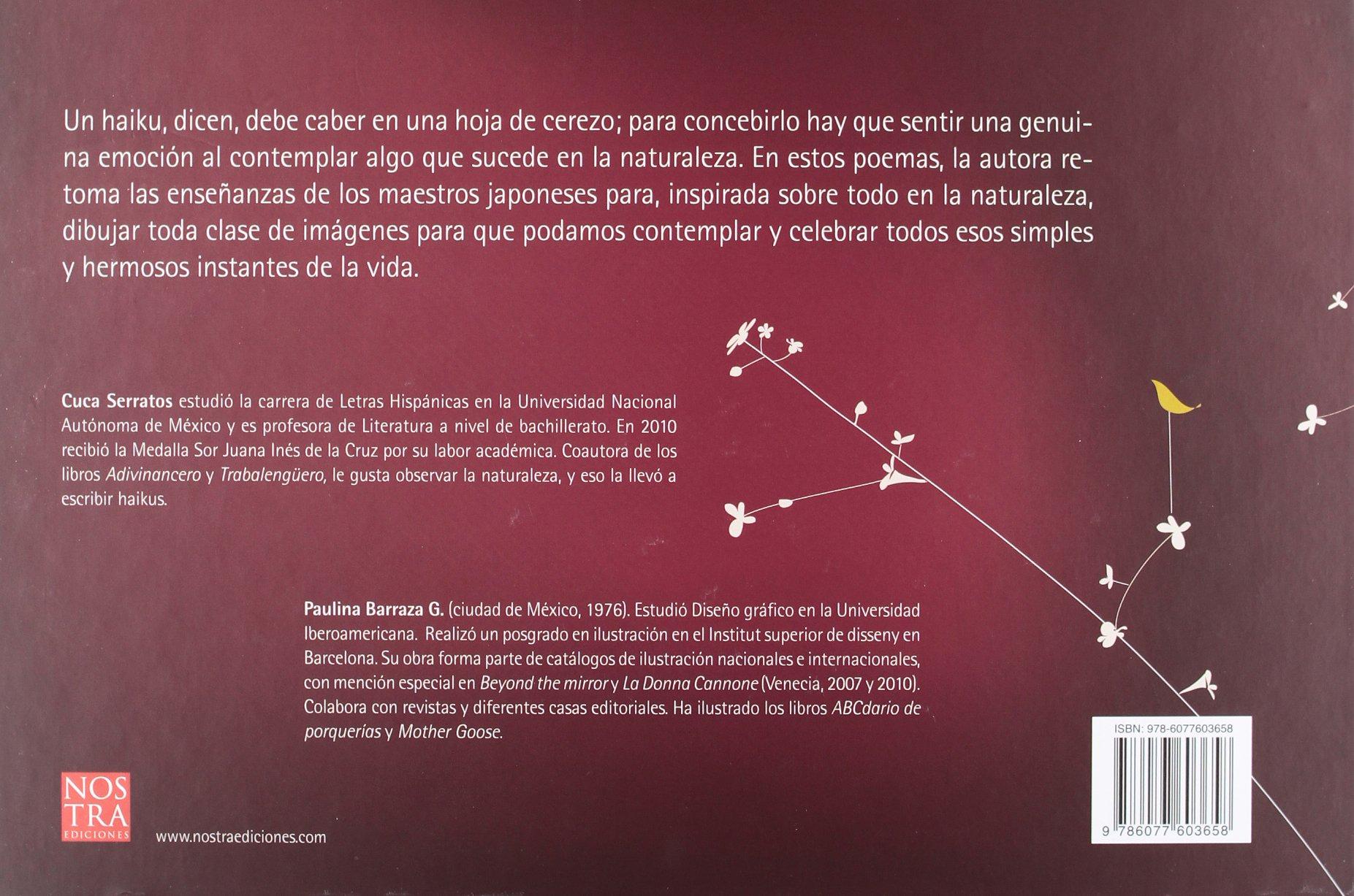 Amazon.com: En hojas de cerezo. Haikus (Spanish Edition ...