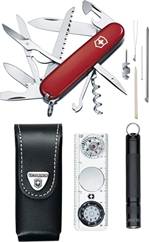 Victorinox Swiss Army Traveler Set Pocket Knife Red