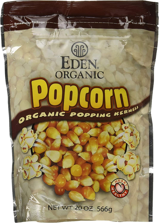 Eden Foods Popcorn Yellow Org (Pack of 2)