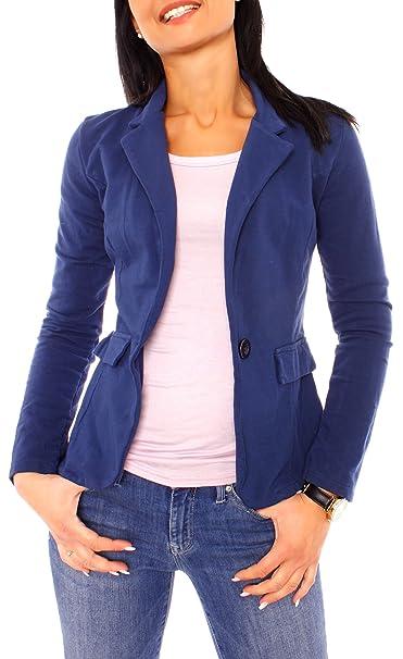 Easy Young Fashion Chaqueta de Traje - para Mujer: Amazon.es: Ropa y accesorios