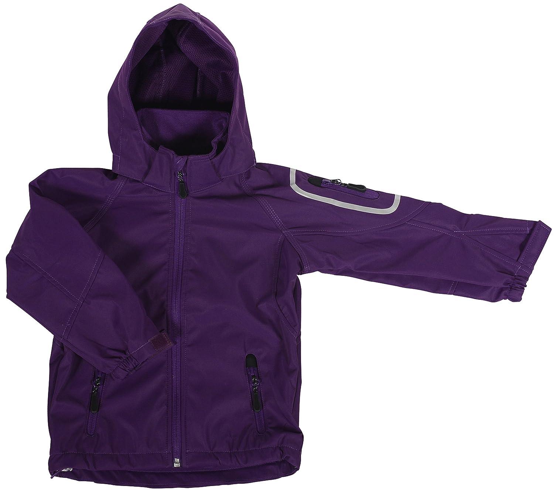 Ocean Tech Shell Jacke für Kinder / Mädchen in Lila - Regenjacke 40186