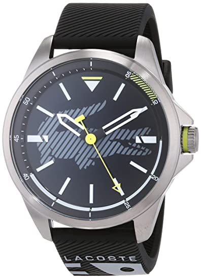 Lacoste Reloj Analógico para Hombre de Cuarzo con Correa en Silicona 2010941