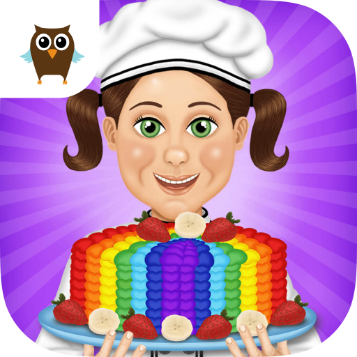 Lily's Bakery - Cakes & Cupcakes Baking (Rainbow Lily)