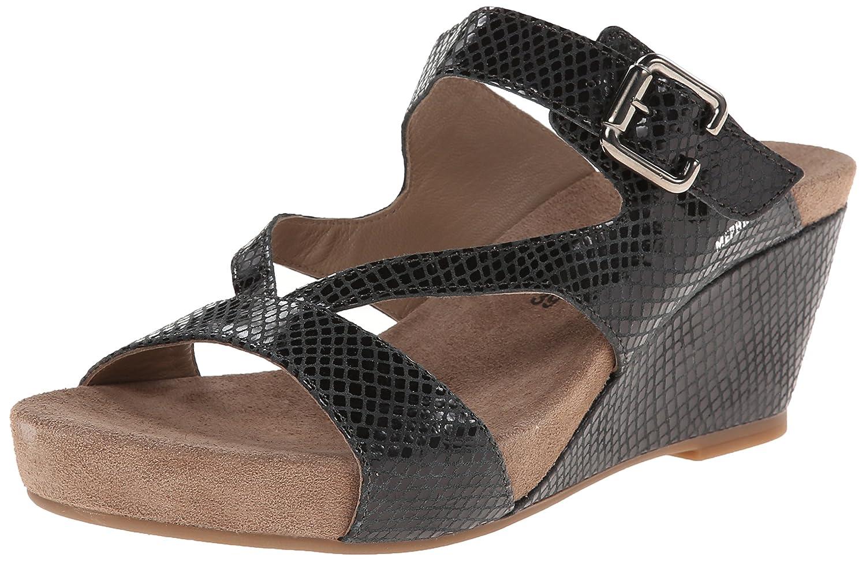 Mephisto Women's Beatrix Wedge Sandal B00LEX3SW4 11 B(M) US|Black Reflet