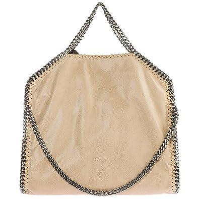 19d42b96436 Stella McCartney Falabella Fold Over sac à main femme beige  Amazon ...