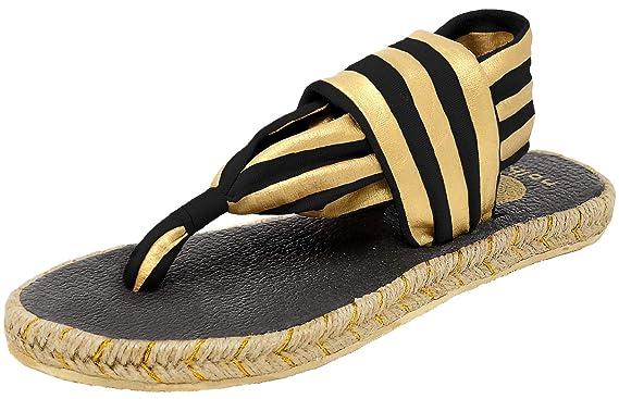 4749de224f4f Amazon.com  Nalho Women s Yoga Mat Memory Foam Espadrilles Sandals ...