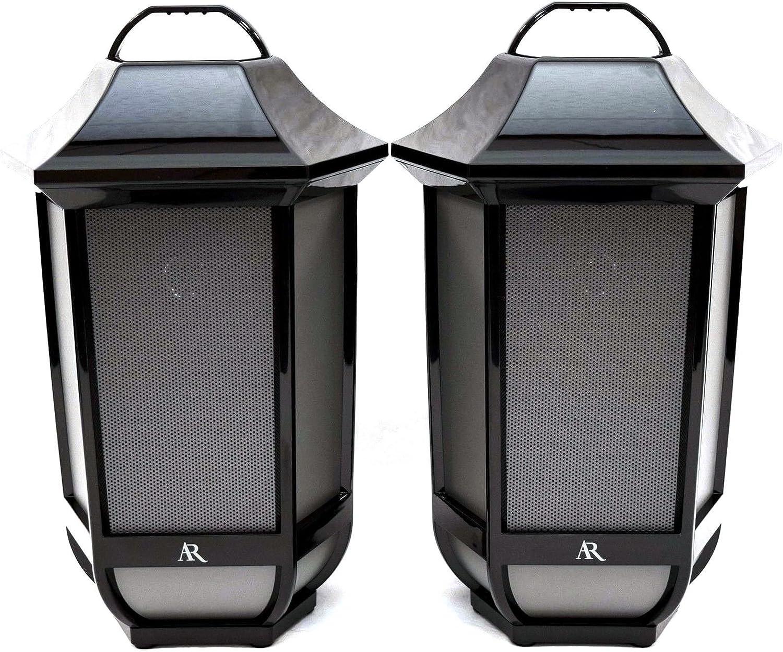 Amazon Com 2 Pk Acoustic Research Portable Wireless Bluetooth Speakers Premier Series Electronics