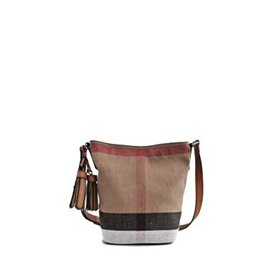 beb09c5e3da Image Unavailable. Image not available for. Color  Burberry Women s Small  Ashby in Canvas ...