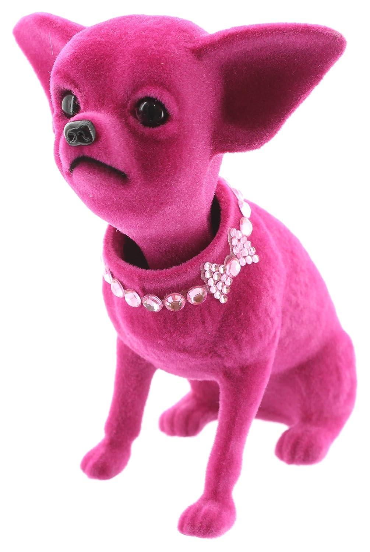 Wackelhund CHIHUAHUA pink MIK funshopping