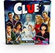 Clue Game; Incudes the Ghost of Mrs. White; Compatible With Alexa (Amazon Exclusive); Mystery Board Game for Kids Ages 8 and Up