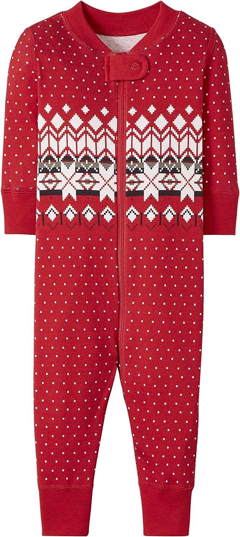 Hanna Andersson Family Heritage Fairisle in Red Pet Pajama