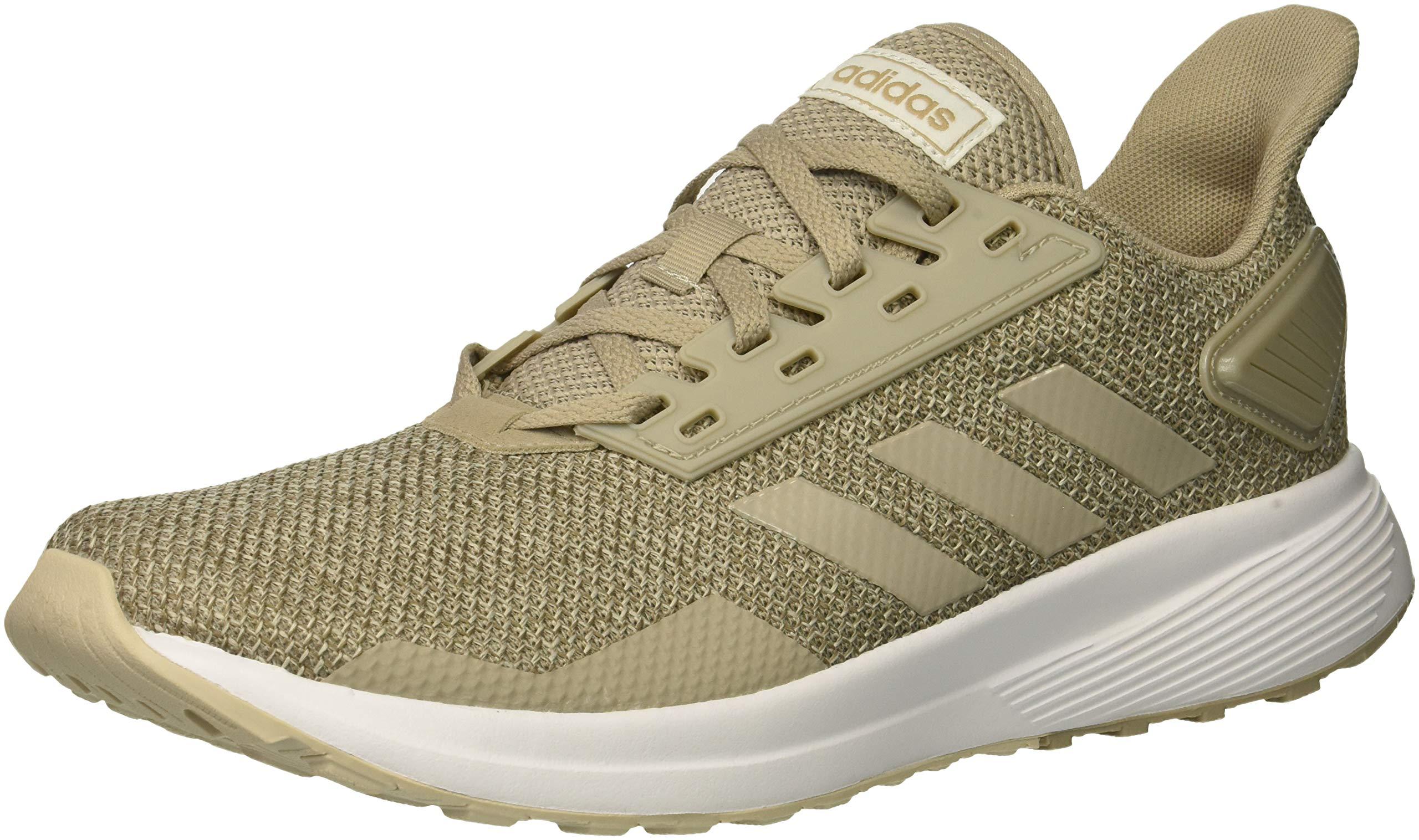 adidas Women's Duramo 9 Running Shoe, Light Brown/Light Brown/Clear Brown, 7 M US by adidas
