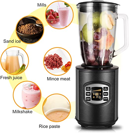 Hope Kings batidora, Smoothie maker, 800 W Blender Acero ...
