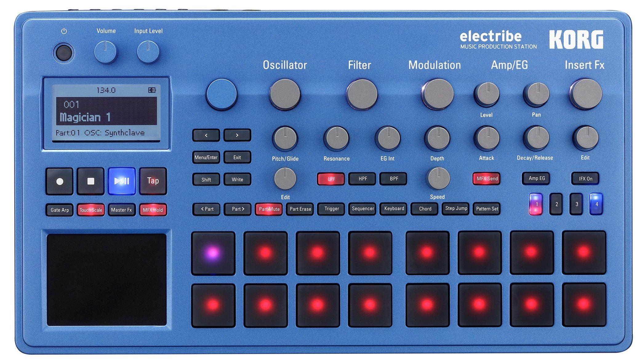 Korg Drum Machine (ELECTRIBE2BL) by Korg